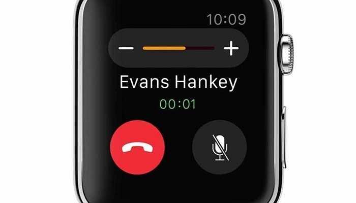 Hoặc gọi điện và đàm thoại thông qua đồng hồ