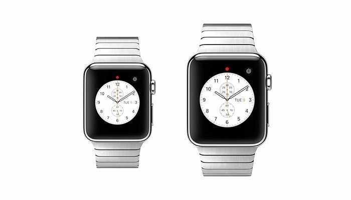 Có hai cỡ đồng hồ dành cho người có cổ tay lớn và nhỏ