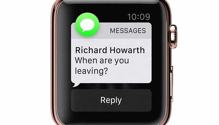 Xem tin nhắn SMS từ cổ tay của bạn