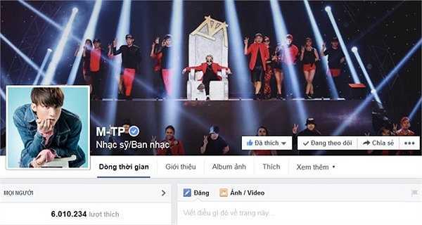 Nam ca sĩ đến từ Thái Bình là người có được sự bứt phá ngoạn mục khi anh mới lập fanpage đầu năm 2014 nhưng đến nay, sau 1 năm, lượng follow giọng ca trẻ này đã là 6 triệu - một con số khiến nhiều người ao ước.