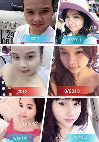 Từ một cô nàng với gương mặt bánh bao, chiếc mũi tẹt, Tạ Thu Trang trở thành hot girl xinh như mộng. Cô nàng chủ shop này còn rất dũng cảm công khai quá trình phẫu thuật thẩm mỹ và cho rằng, phương pháp dao kéo là hoàn toàn chính đáng để các cô gái xinh đẹp hơn, tự tin hơn trong cuộc sống.