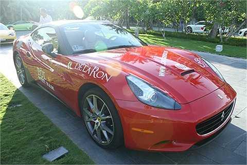 Bản thân Đỗ Bình Dương chỉ sở hữu một siêu xe, đó là chiếc Ferrari California màu đỏ đời 2010. Được biết sau nhiều tháng đặt hàng từ Mỹ, cuối năm 2010, siêu xe Ferrari California của Đỗ Bình Dương đã cập cảng Hải Phòng và nhanh chóng được vận chuyển lên Hà Nội.