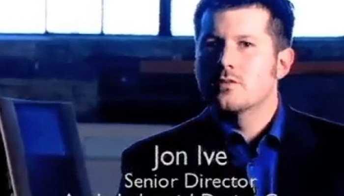 Bức ảnh của Ive thời còn trẻ. Ông làm việc cho Apple từ năm 1992 và quản lý phần thiết kế kể từ sau khi Steve Jobs trở lại vào năm 1997