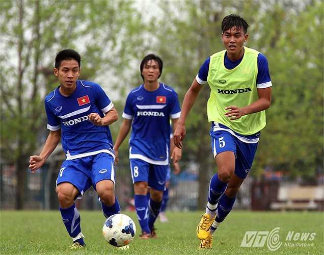 Về cơ bản, Hoàng Lâm gần như sẽ có tên trong đội hình U23 Việt Nam dự vòng loại. (Ảnh: Quang Minh)