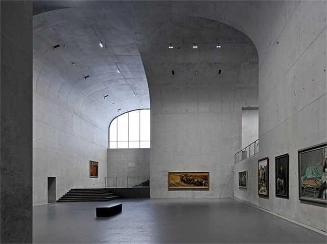 Bảo tàng Long Museum West Bund ở Thượng Hải, Trung Quốc, do kiến trúc sư Atelier Deshaus thiết kế.