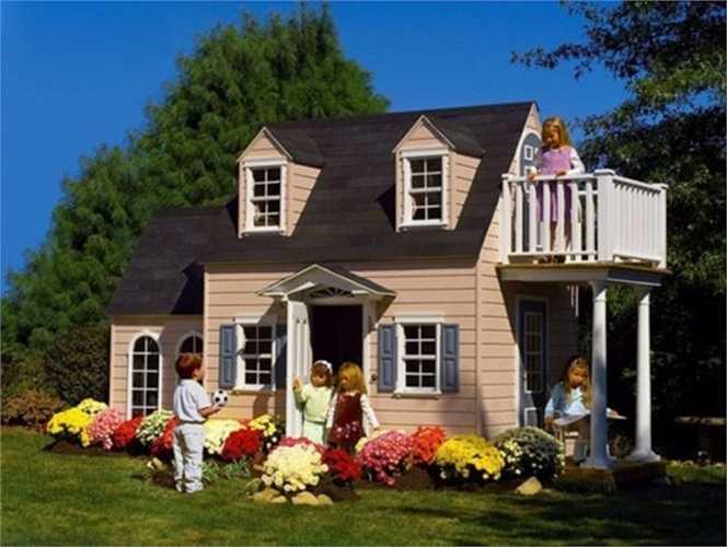 Điều đặc biệt là những biệt thự mini này có đầy đủ phòng, điều hòa, đồ dùng nhà bếp, nội thất như biệt thự thông thường