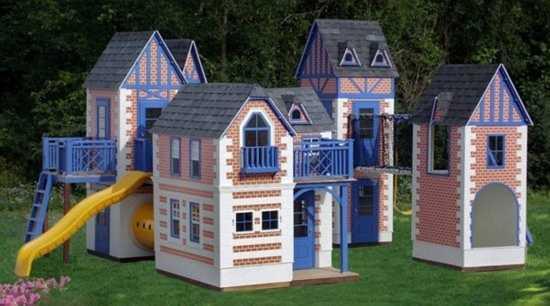 Để có được biệt thự đẹp này cho con vui chơi, bố mẹ phải chi ít nhất 20.000 USD (khoảng hơn 400 triệu đồng)