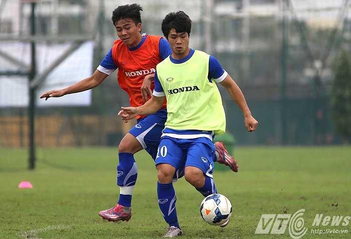Anh muốn lọt vào danh sách 4 tiền đạo dự vòng loại U23 châu Á (Ảnh: Quang Minh)