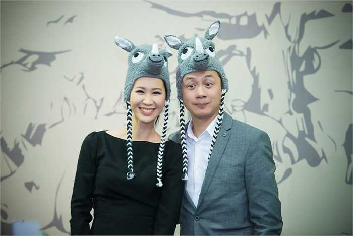 Hiểu rõ tầm quan trọng của việc bảo vệ động vật hoang dã, Hoa hậu Dương Thùy Linh và MC Anh Tuấn đều góp mặt tích cực tại sự kiện.