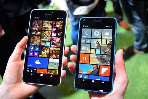 Lumia 640/ 640 XL: Bộ đôi đến từ Microsoft này lần lượt dành cho phân khúc giá rẻ và tầm trung.
