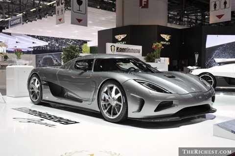 10 siêu xe đắt giá và nhanh nhất hành tinh