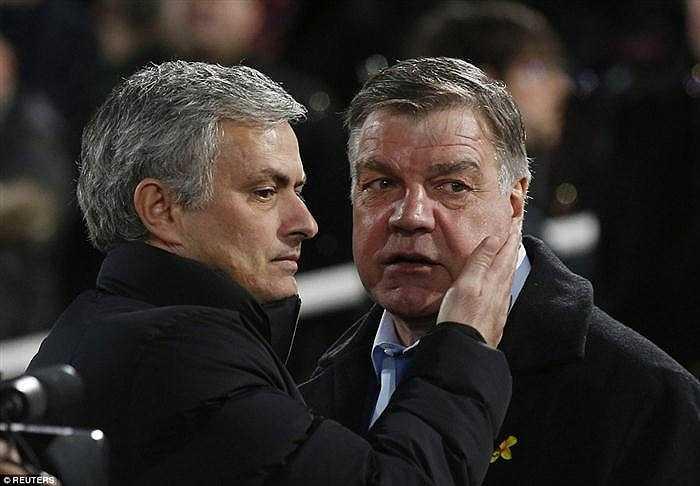 Jose Mourinho và Sam Allardyce.