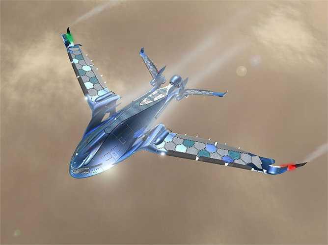 Máy bay Eagle là thiết kế mang đậm tính tương lai bởi thực tế, công nghệ cho tất cả những tiện ích đỉnh cao trên máy bay còn chưa có mặt vào thời điểm này.