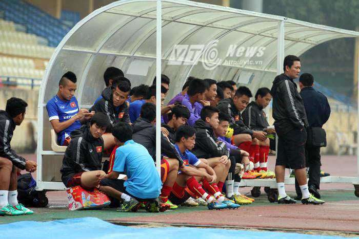 U23 Việt Nam trước trận đấu