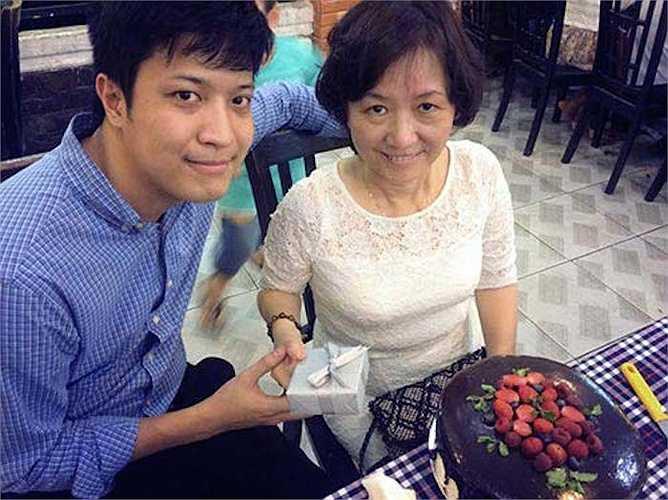 Đặc biệt, bạn trai Diễm My rất được lòng mẹ cô.