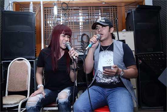 Cô sẽ song ca cùng với Thuỷ Tiên ca khúc Tuổi ngọc của nhạc sĩ Phạm Duy.
