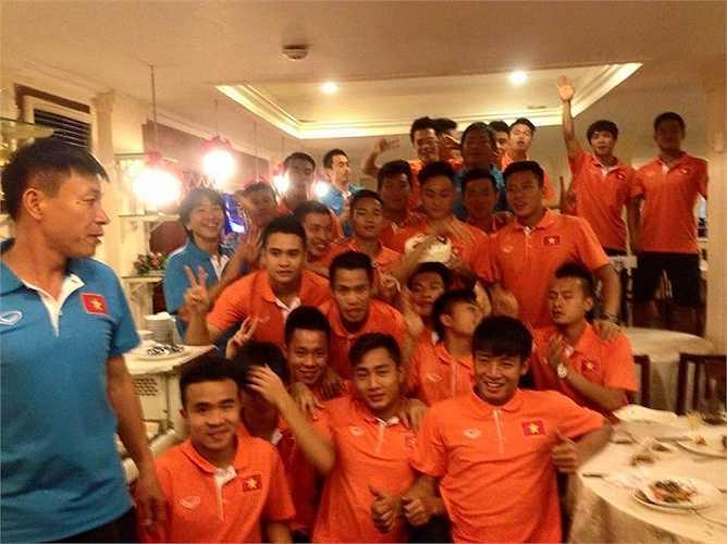 Đây sinh nhật thứ 3 của U23 Việt Nam kể từ khi hội quân.