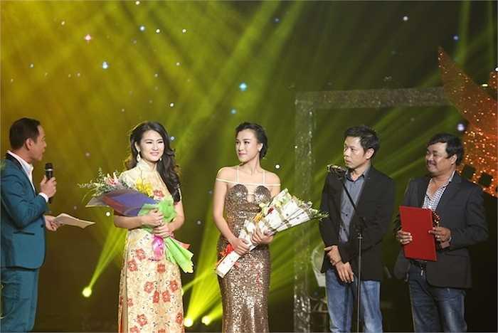 Á hậu Hoàng Oanh 'đốt mắt' khán giả với đầm sequin của nhà thiết kế Lê Nguyễn An Nhiên.