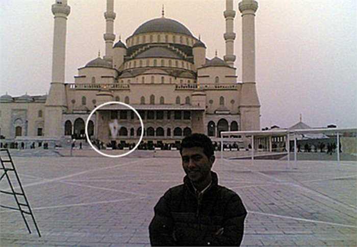 Bức ảnh có vệ trắng lạ được chụp tại Ankara, Thổ Nhĩ Kì