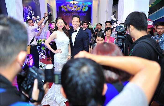 Chính vì vậy, sự xuất hiện của Trương Ngọc Ánh và Kim Lý đã thu hút sự chú ý đặc biệt của báo giới và người hâm mộ.