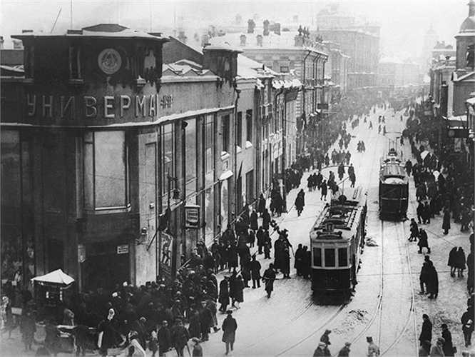 Đường phố Sretenka năm 1932