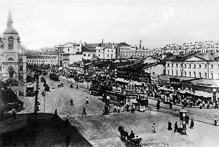 Đường Okhotny Ryad năm 1920