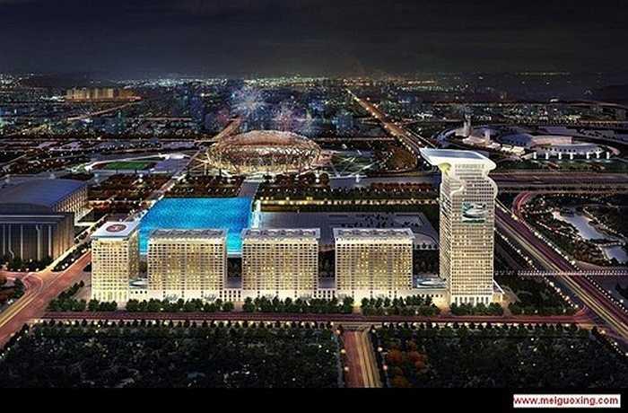 3. Khách sạn 7 sao thứ 3 là Pangu Plaza tại Bắc Kinh (Trung Quốc): Pangu Plaza hay tên gọi cũ là Morgan Plaza là khách sạn sang trọng nhất Trung Quốc, nó nằm tại trong khu vực đầu tư dành cho Olympic 2008. Đây cũng là tòa nhà đã xuất hiện trong bộ phim bom tấn Transformer 4. Nó được coi như một biểu tượng trong sự phát triển mạnh của thành phố Bắc Kinh.