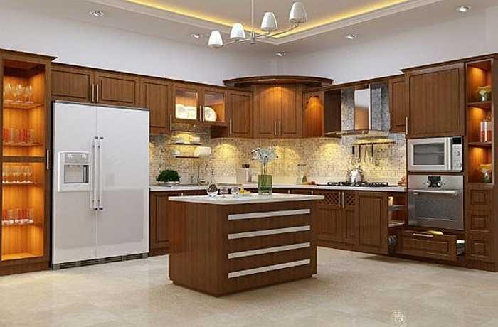 Cho dù tủ lạnh được kê ở trong bếp hay phòng khách, gia chủ nên lưu ý không được kê tủ lạnh đối diện với cửa, dễ gây ra thế tương xung của luồng khí khiến cho tài vận không ổn định, thậm chí còn có nguy cơ phá sản.