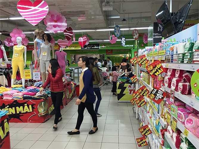 Hiện tại, các hoạt động diễn ra bình thường tại siêu thị BigC The Garden