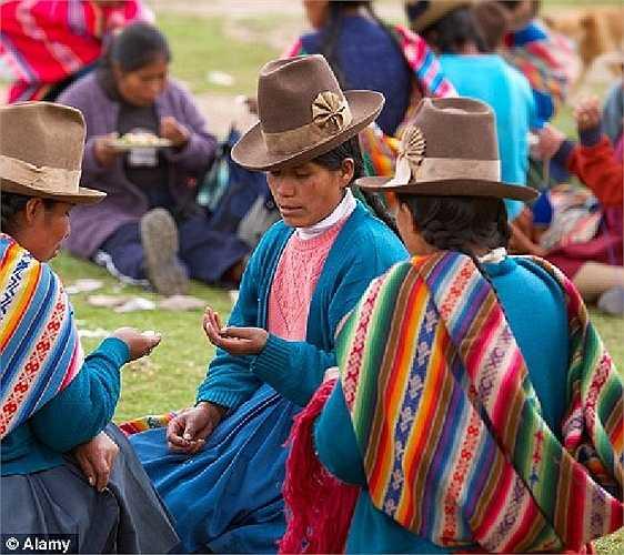 Người phụ nữ Chincherro, Cusco Peru
