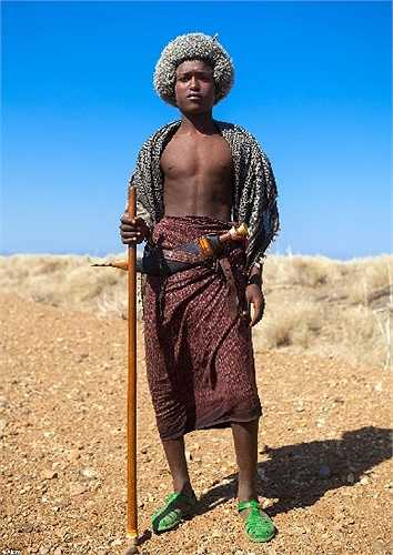 Người đàn ông bộ tộc Afar, Etiopia