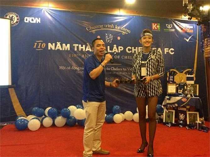 Mối lương duyên đưa Huyền My tới với Chelsea bắt nguồn từ cầu thủ Thành Lương.