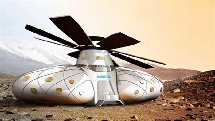 Căn cứ Sao hỏa 10 (MB10) được thiết kế bởi Ondrei Doule được cố định dưới chân đỉnh núi Sao Hỏa Olympus Mons. MB10 có thể đống vai trò là căn cứ thiết lập đầu tiên trước khi các cabin mới được xây dựng từ các nguyên liệu tìm được.