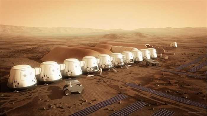 Mars One được dự tính sẽ là khu định cư đầu tiên của con người trên hành tinh đỏ vào năm 2024.