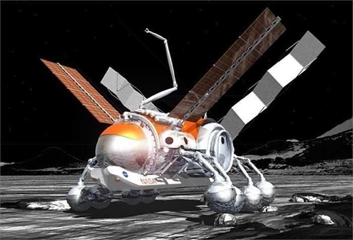 Thiết kế Scorpion Rover của Guillermo Trotti, một phần của Dự án Kiến trúc Thám hiểm được tài trợ bởi NIAC, viện nghiên cứu ý tưởng mới của NASA. Khi còn là sinh viên, ông Trotti đã đề đạt một cơ sở bơm hơi trên Mặt Trăng có thể chứa 200 người, trồng được cây đậu tương, nuôi cá, 200 con gà và 50 con dê.