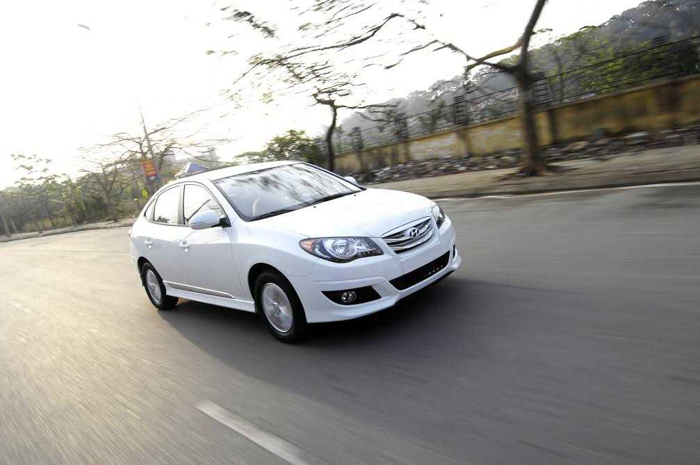 Hyundai Avante là mẫu xe Hyundai đầu tiên được lắp ráp ở Việt nam.