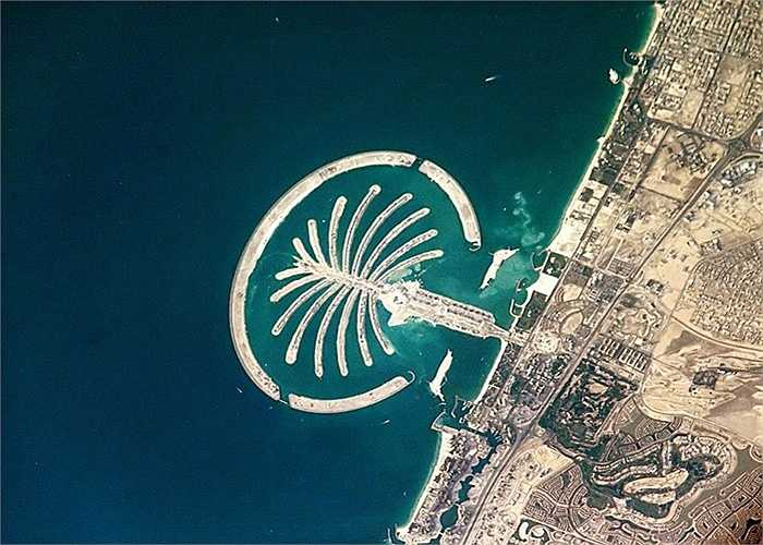Quần đảo Palm Jumeirah, Dubai :  là quần đảo nhân tạo được tạo ra bằng cách cải tạo đất. Nó là sự kết hợp cả 3 hòn đảo nhỏ Palm Jumeirah, Palm Jebel Ali và Palm Deira