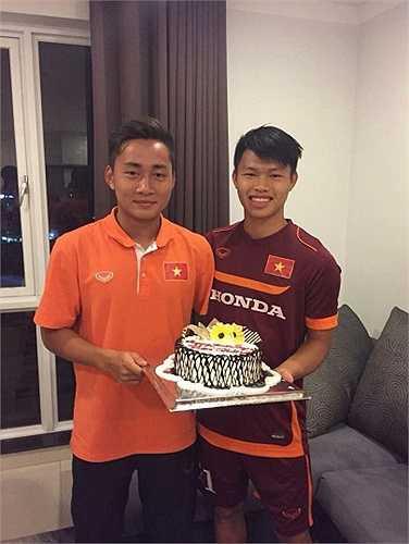 Tuấn Tài và Văn Thành có cùng ngày sinh nhật