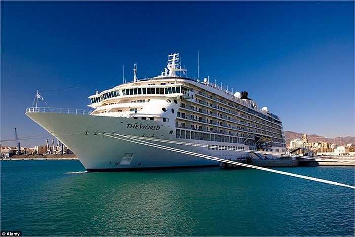 Con tàu này bắt đầu hạ thủy từ năm 2002, đã đi qua 900 quốc gia với 140 bến cảng.