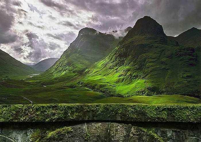 Mossy Arch, Glencoe, Scotland