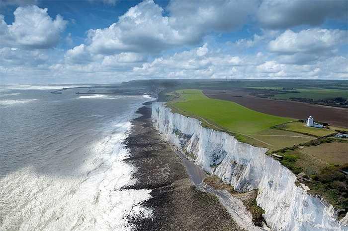White Cliffs tại Dover, Anh
