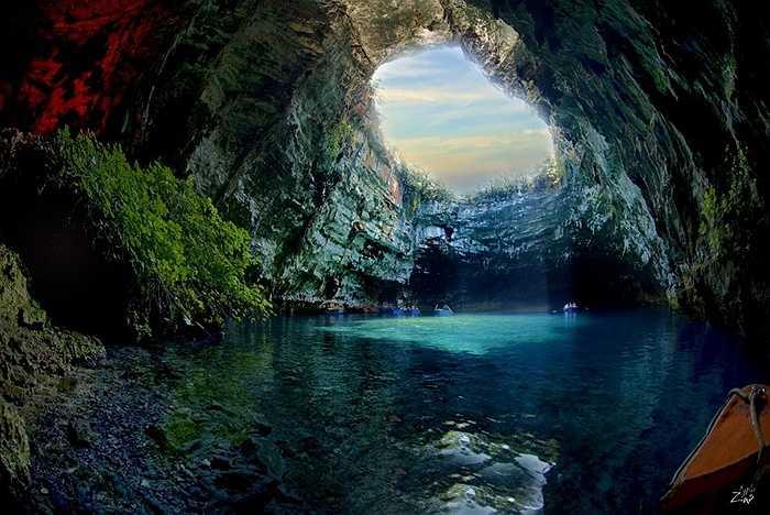 Hang động Melissani, Kefalonia, Hy Lạp