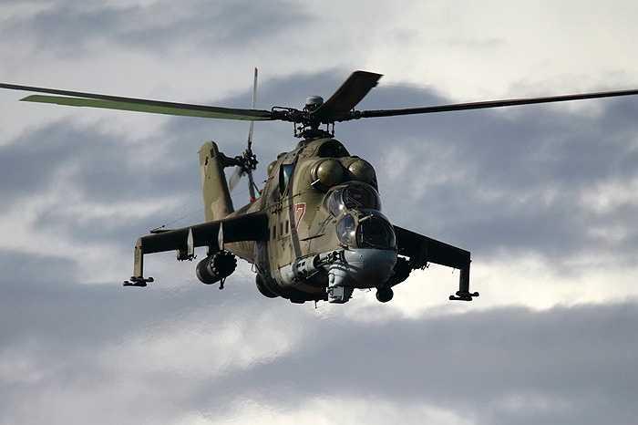 Trực thăng vũ trang Mi-24 của Nga