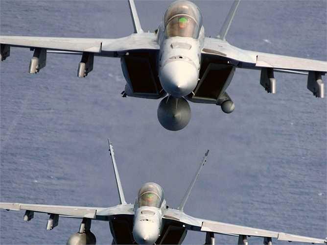 F-18 Super Hornet, một trong những chiến cơ phổ biến nhất thế giới
