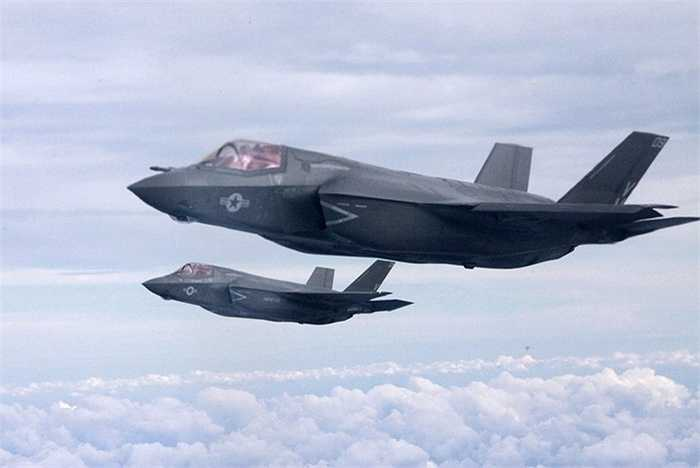 Chiến cơ tàng hình thế hệ thứ 5 F-35 của quân đội Mỹ