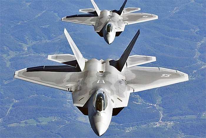 Chiến cơ tàng hình thế hệ 5 F-22 của quân đội Mỹ