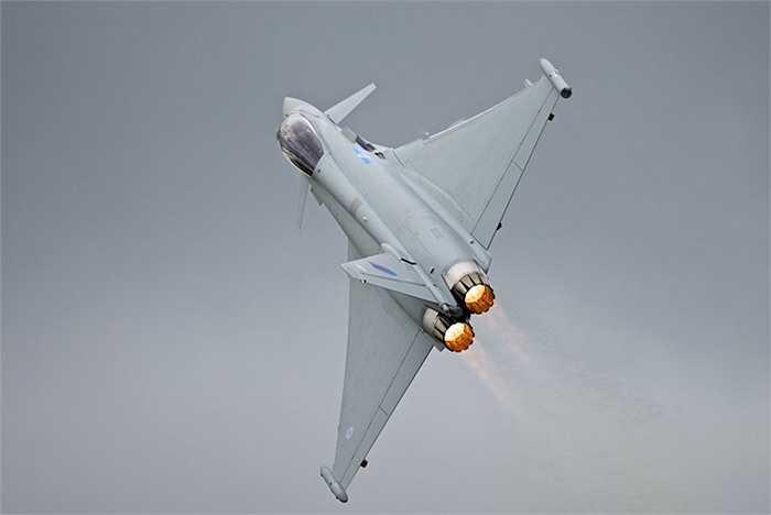 Eurofighter Typhoon, một trong những chiến cơ tốt nhất hiện nay ở châu Âu