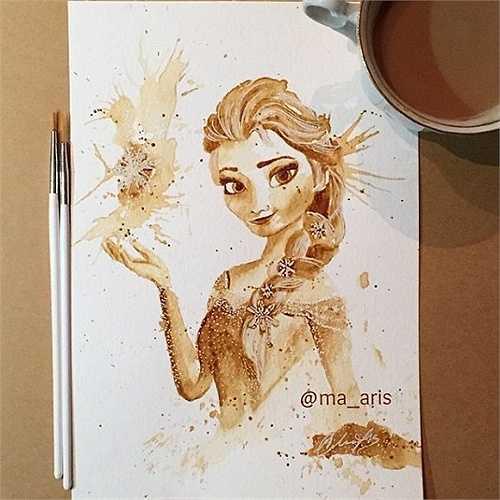 Nữ hoàng Elsa - nữ hoàng băng giá của vương quốc Arendelle
