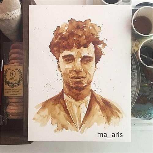 Hình ảnh vua hề Sác lô (Charlie Chaplin) thời trẻ