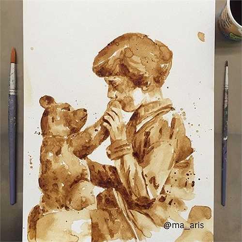 Christopher và  gấu Pooh